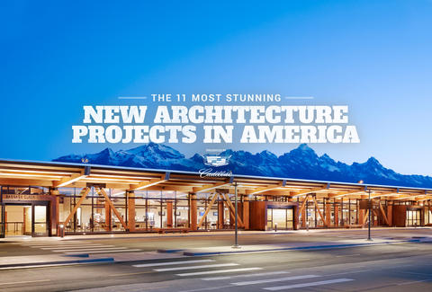 Stunning New American Architecture