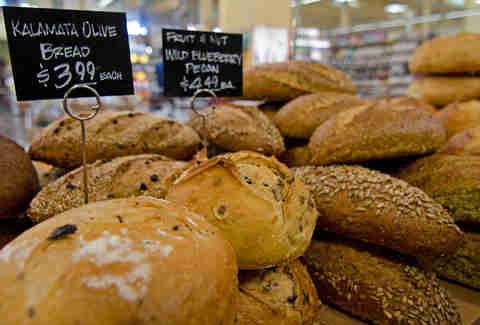 bread at Whole Foods