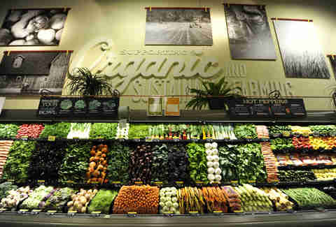 produce at Whole Foods