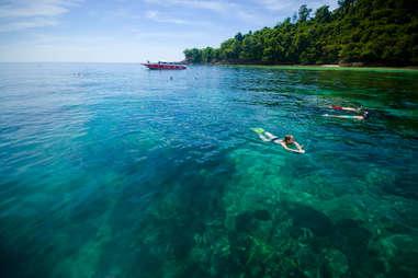 Koh Lanta, Thailand clear waters