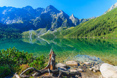Vally of the Five Lakes, Poland Clear Waters