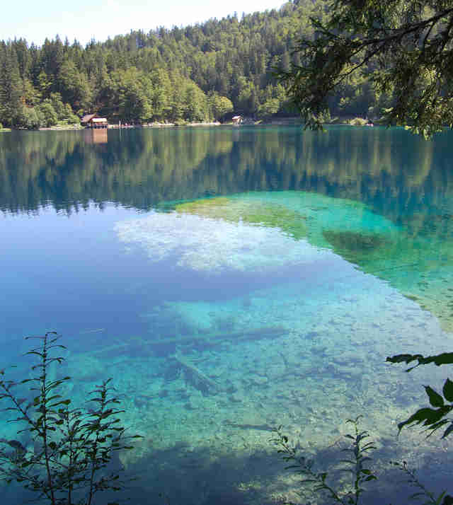 Laghi de Fusine, Italy clear waters