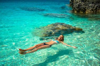 Lefkada, Greece clear waters