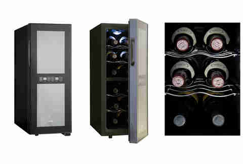 Haier 12 Bottle Dual Zone Wine Cellar