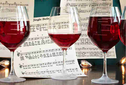 Major Scale Wine Glasses