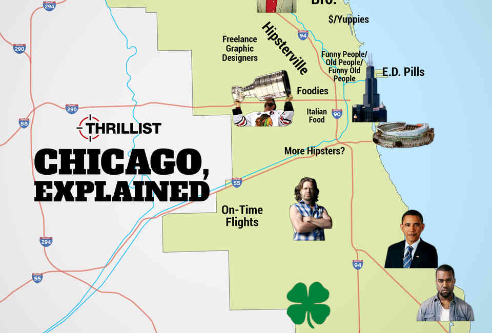 Chicago Neighborhood Stereotypes [Infographic] - Thrillist on