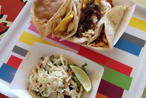 tacos at salsa limon