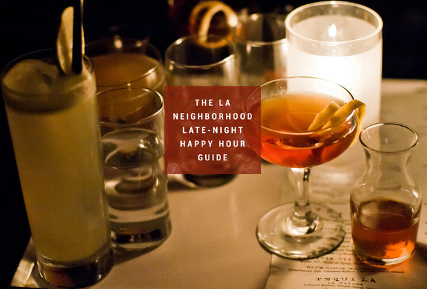 53 Late-Night Happy Hours in LA