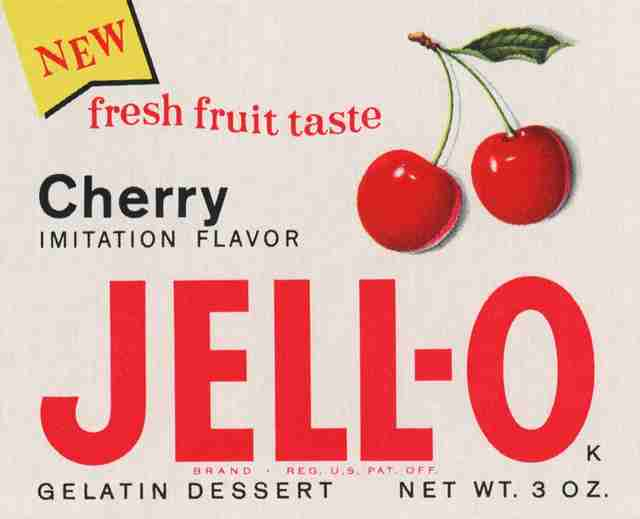 1962 Jell-O packaging