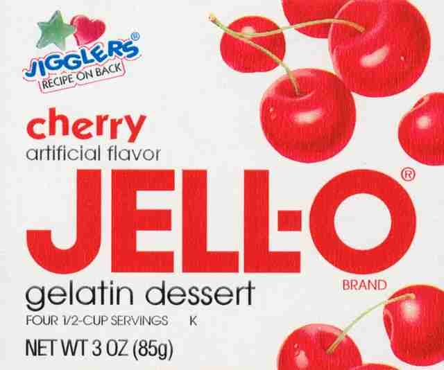 1994 Jell-O packaging