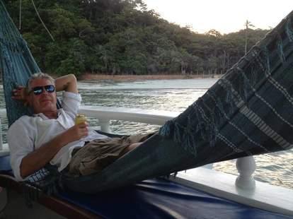 Anthony Bourdain hammock