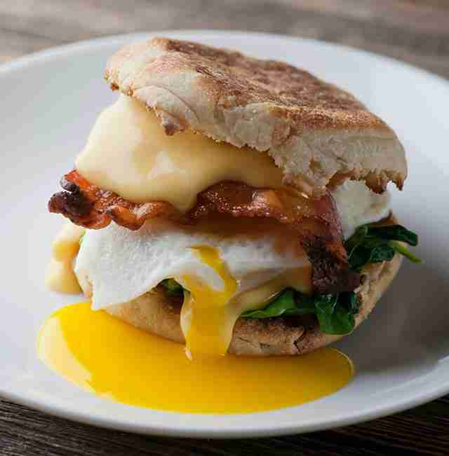 The Classic breakfast sandwich