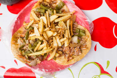 al pastor with fries