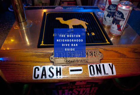 Best Boston Dive Bars Thrillist - Map of dive bars in us