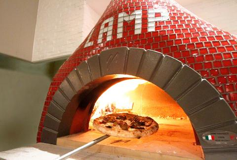 Lamp Wood oven pizzeria