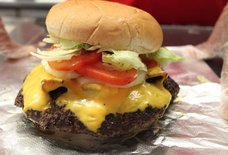 Big Chief's Old Fashion Hamburger