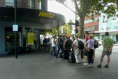 hertz line