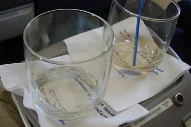 Plane drinks