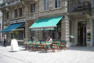 European Starbucks