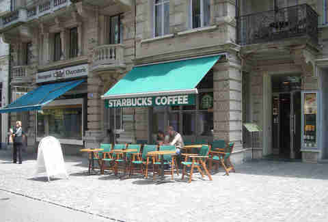 European Starbucks