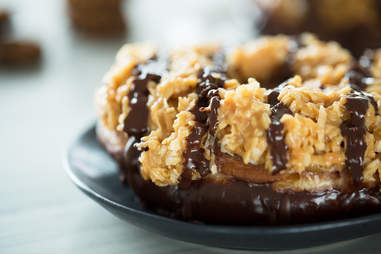 Samoa Donuts — Thrillist Recipes