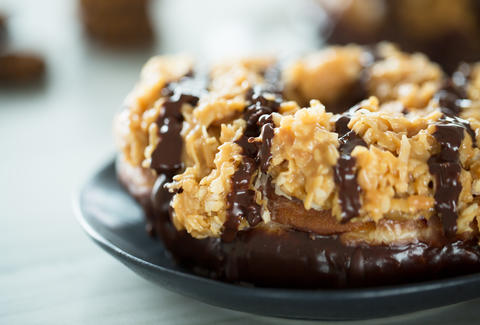 Samoa Donuts — Thrillist Recipes