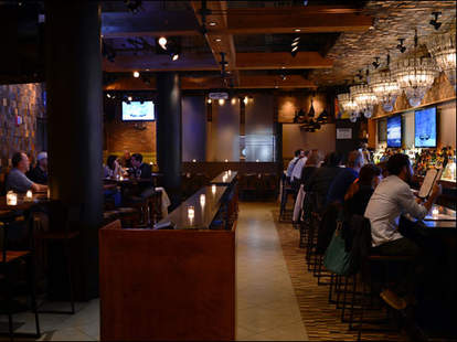 Grey Bar interior