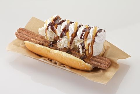 arizona diamondbacks churro dog