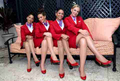 Flight attendant family