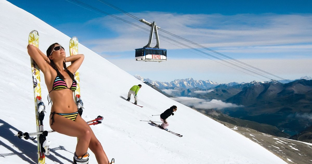 The 10 Best Places to Go Skiing This Summer