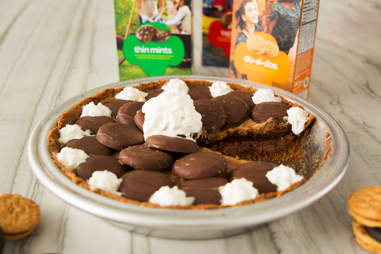 Girl Scout cookie cream pie — Thrillist Recipes