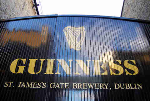 St. James' Gate Dublin Guinness