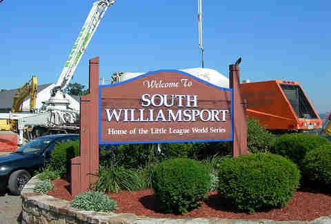 south williamsport sign