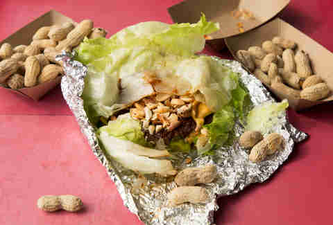 thai lettuce wrap five guys