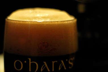 beer from o'hara's irish bars best in New York City NYC