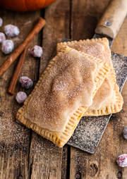 Cinnamon sugar Nutella-swirled pumpkin pie Pop-Tarts