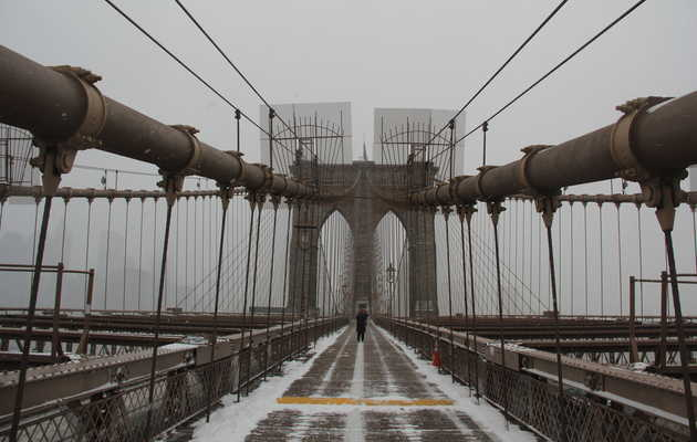 Update: Up to 6 Inches of Snow Expected in NYC Today