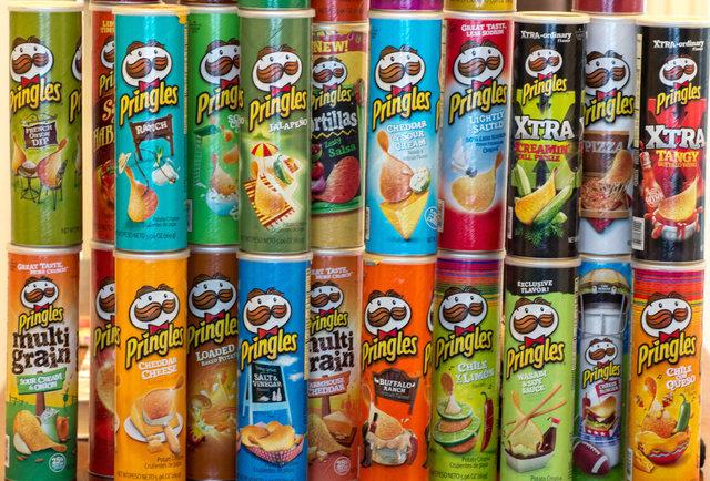 Alle Pringles Sorten