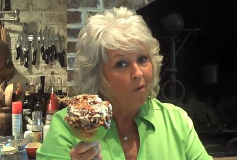 Paula Deen caramel apple