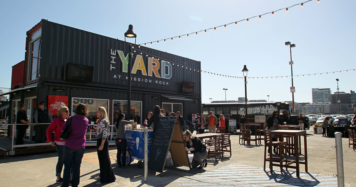 The Yard Shipping Container Bar San Francisco Thrillist