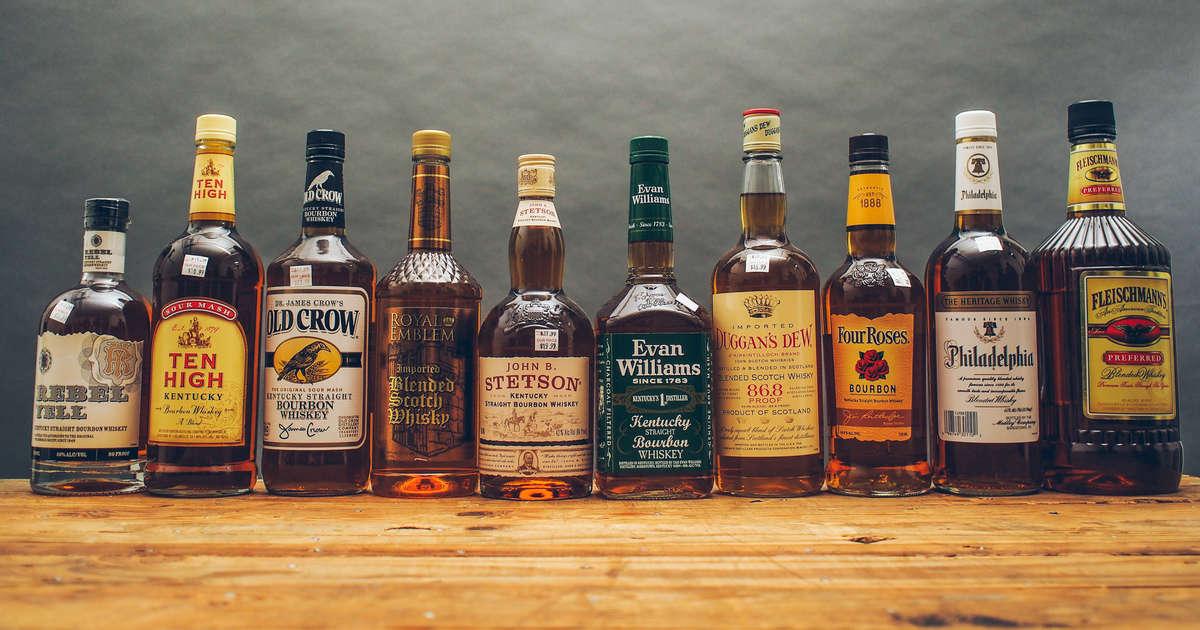 Best Cheap Whiskey Brands That Still Taste Good - Thrillist