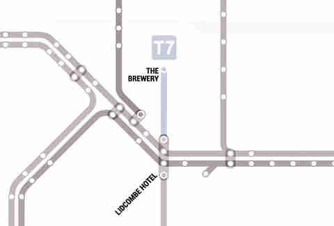 Sydney S Trains Bar Map Thrillist