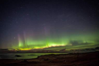 shetland islands scotland northern lights