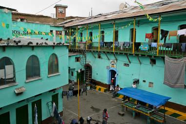 Bolivian jail