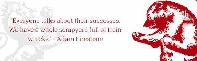 Adam Firestone Quote