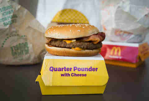 bacon quarter pounder