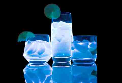 Glow in the dark drinks