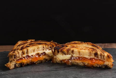 Cinnamon Roll Grilled Cheese — Thrillist Recipes