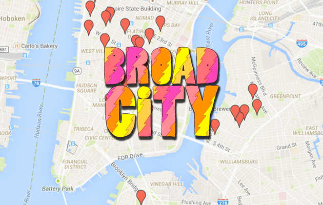 Everywhere You Can ACTUALLY Go From Broad City's Season 2, Mapped
