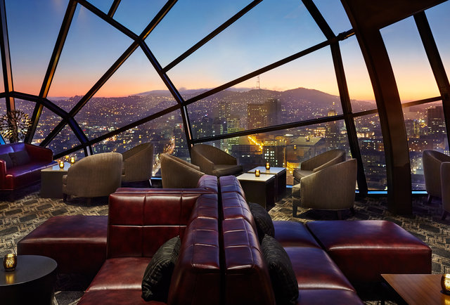 The View At The Marriott Marquis Soma Sf Bars